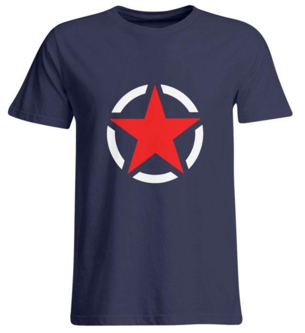 SpreeRocker Red + White Star - Übergrößenshirt-198