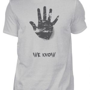 SpreeRocker We Know - Herren Shirt-1157