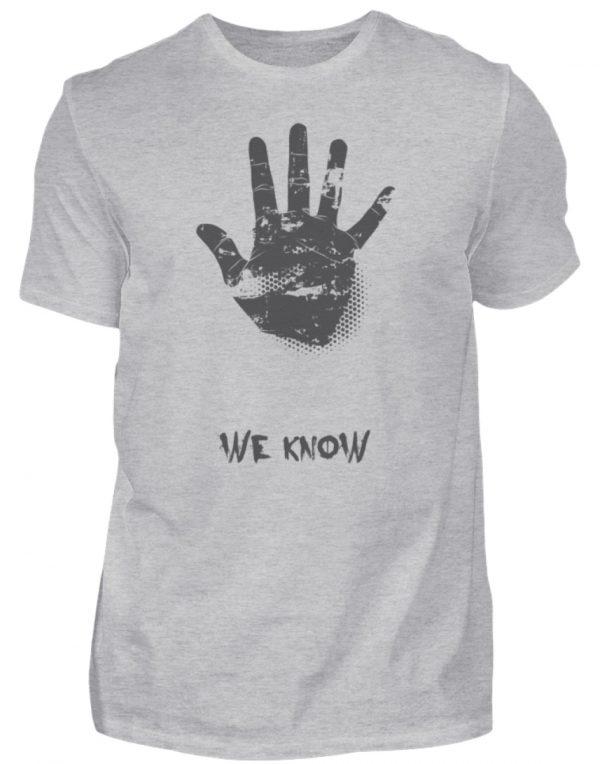 SpreeRocker We Know - Herren Shirt-17