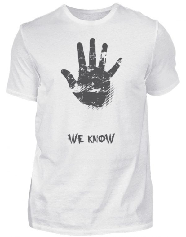 SpreeRocker We Know - Herren Shirt-3