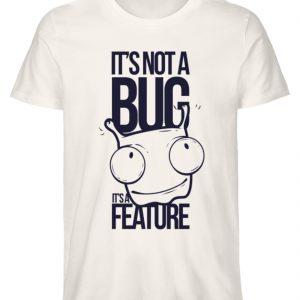SpreeRocker Not A Bug - Herren Premium Organic Shirt-6881