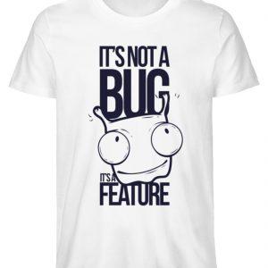 SpreeRocker Not A Bug - Herren Premium Organic Shirt-3
