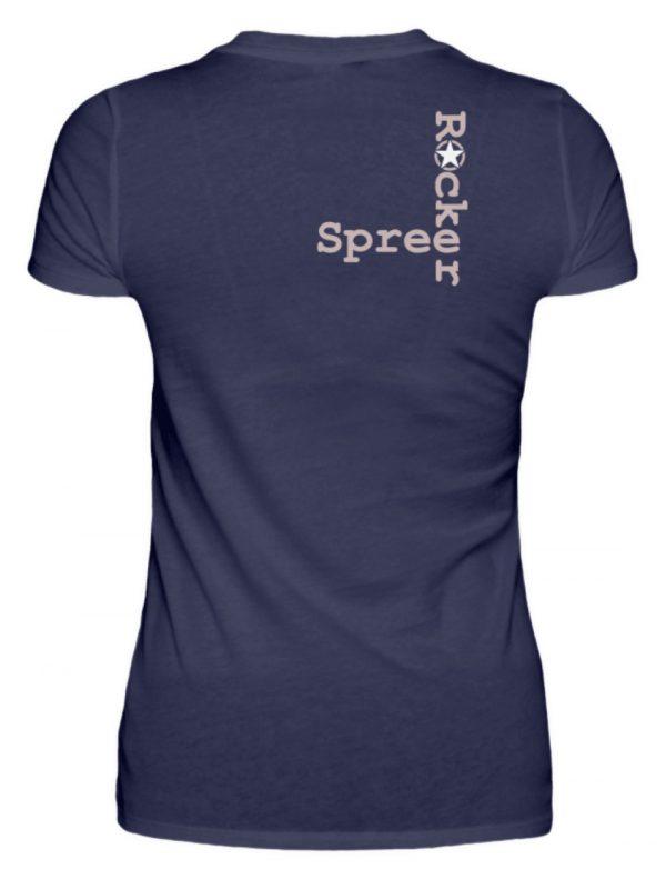 SpreeRocker Rose Skull - Damenshirt-198