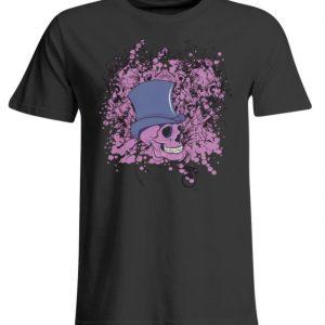 SpreeRocker Pink Skull - Übergrößenshirt-639