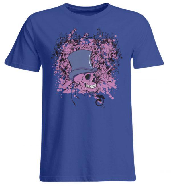 SpreeRocker Pink Skull - Übergrößenshirt-668