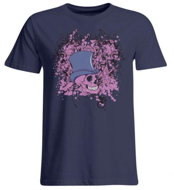 SpreeRocker Pink Skull - Übergrößenshirt-198