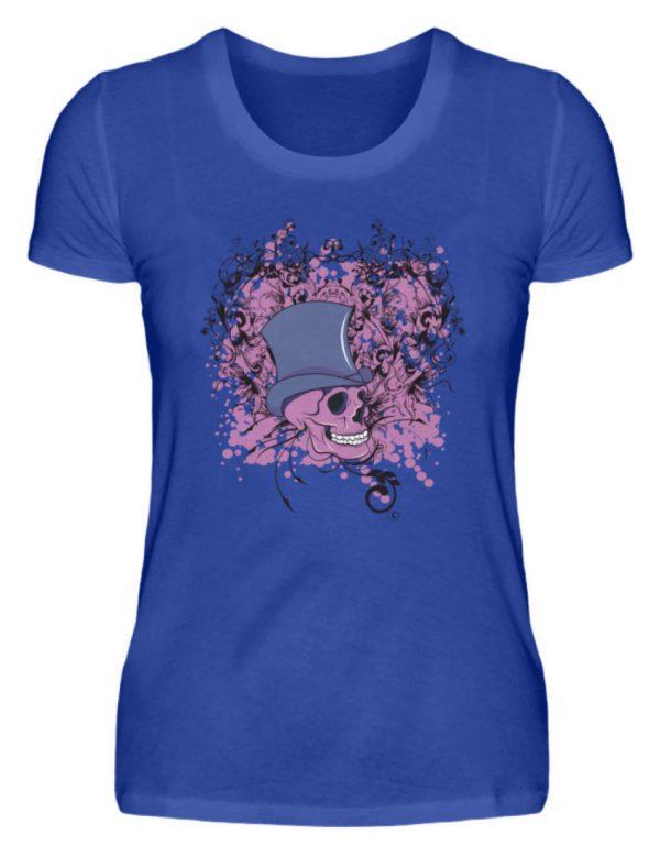 SpreeRocker Pink Skull - Damenshirt-2496