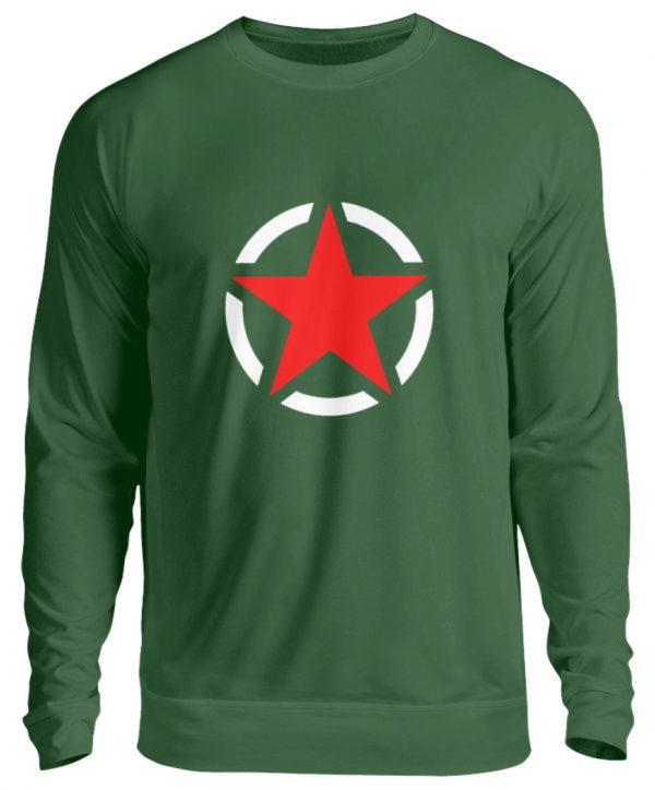 SpreeRocker Red + White Star - Unisex Pullover-833