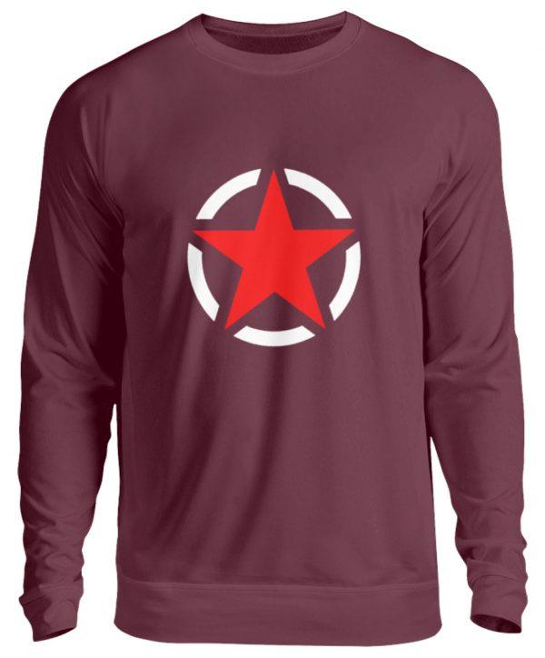 SpreeRocker Red + White Star - Unisex Pullover-839