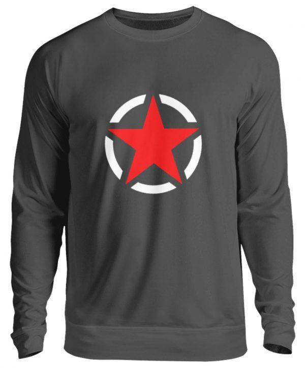 SpreeRocker Red + White Star - Unisex Pullover-1768