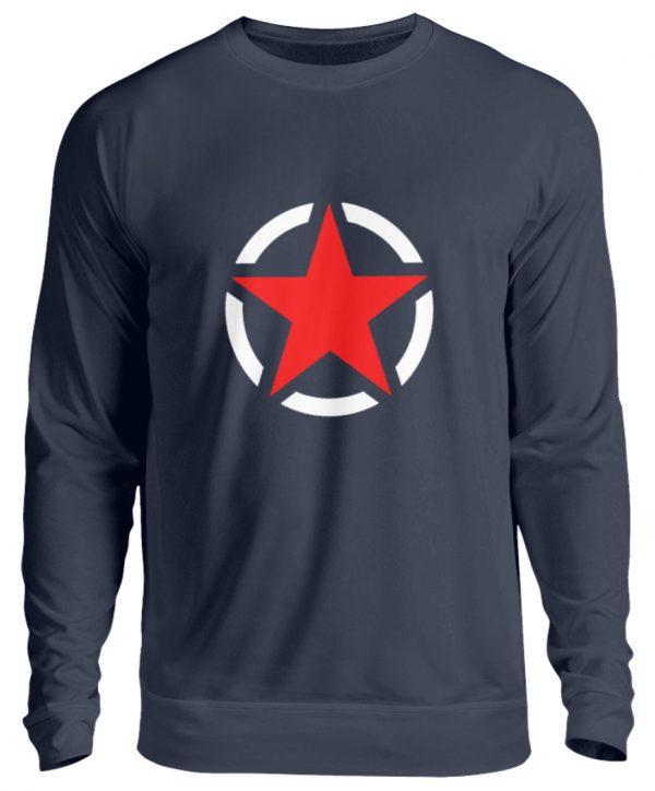 SpreeRocker Red + White Star - Unisex Pullover-1698