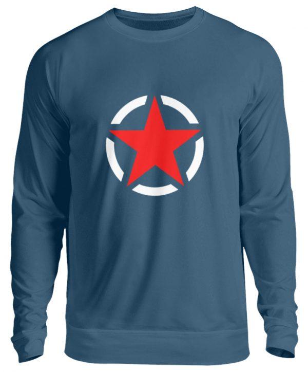 SpreeRocker Red + White Star - Unisex Pullover-1461