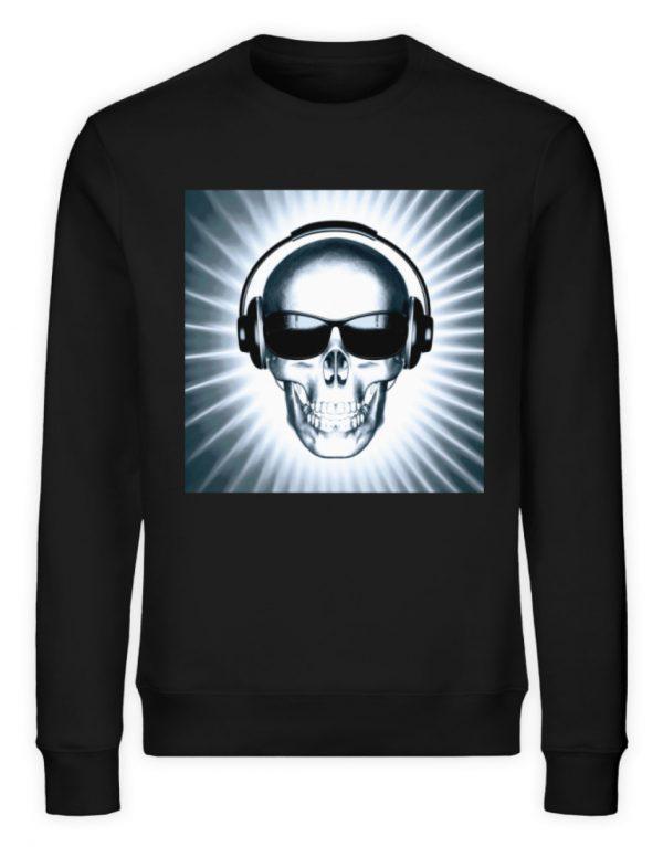 SpreeRocker Skull 1 - Unisex Organic Sweatshirt-16