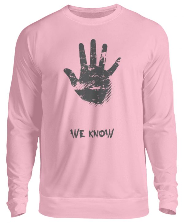 SpreeRocker We Know - Unisex Pullover-1490