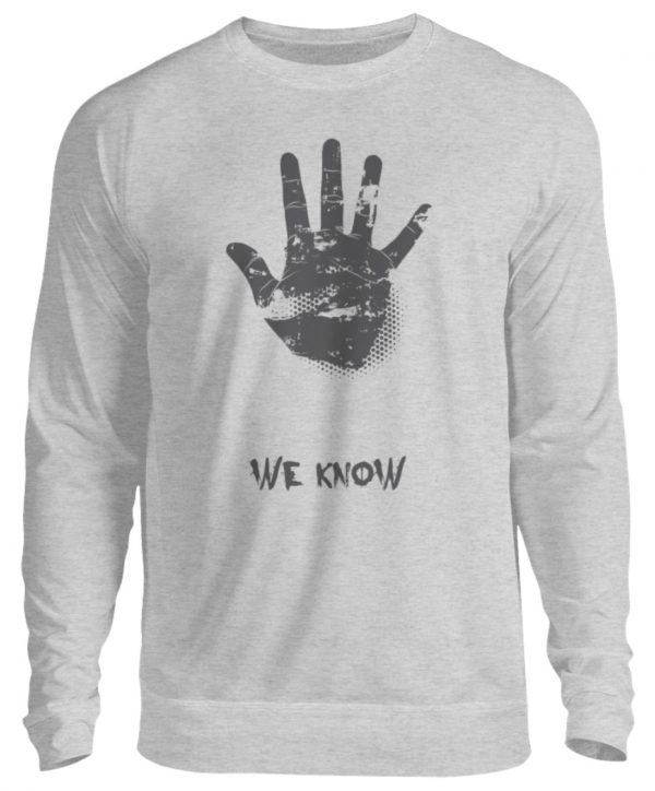 SpreeRocker We Know - Unisex Pullover-17