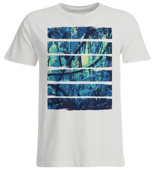SpreeRocker Blue Jungle - Übergrößenshirt-1053