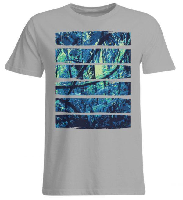 SpreeRocker Blue Jungle - Übergrößenshirt-645