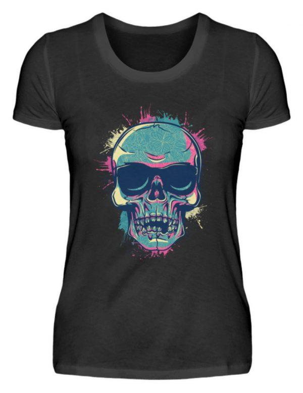 SpreeRocker Neon Skull - Damenshirt-16