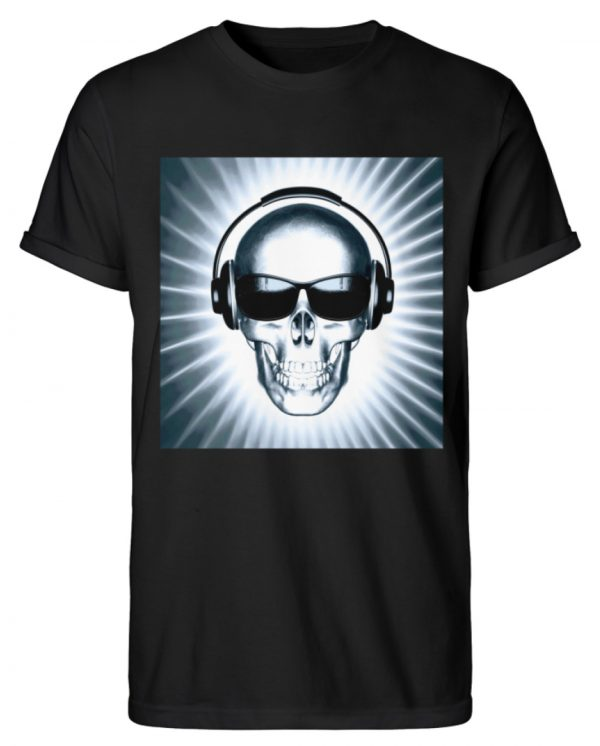SpreeRocker Skull 1 - Herren RollUp Shirt-16
