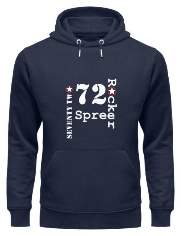 SpreeRocker Seventy Two weiss - Unisex Organic Hoodie-6887