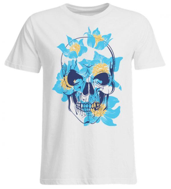SpreeRocker Blue Skull - Übergrößenshirt-3
