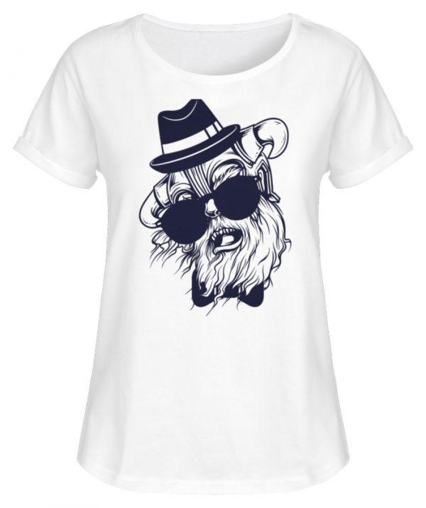 SpreeRocker Sunglass Monkey - Damen RollUp Shirt-3