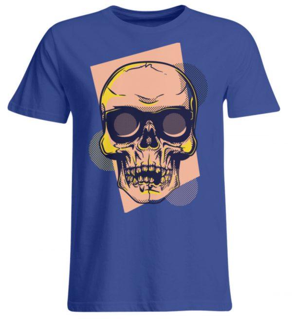 SpreeRocker Orange Skull - Übergrößenshirt-668