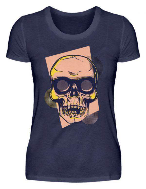 SpreeRocker Orange Skull - Damenshirt-198