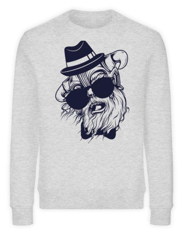 SpreeRocker Sunglass Monkey - Unisex Organic Sweatshirt-6892