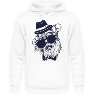 SpreeRocker Sunglass Monkey - Unisex Kapuzenpullover Hoodie-1478