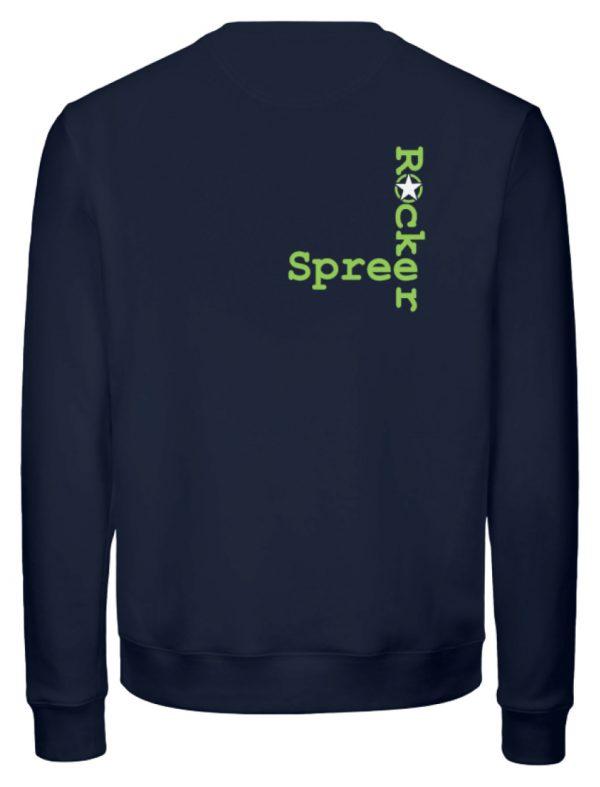 SpreeRocker Neon Skull - Unisex Organic Sweatshirt-6887