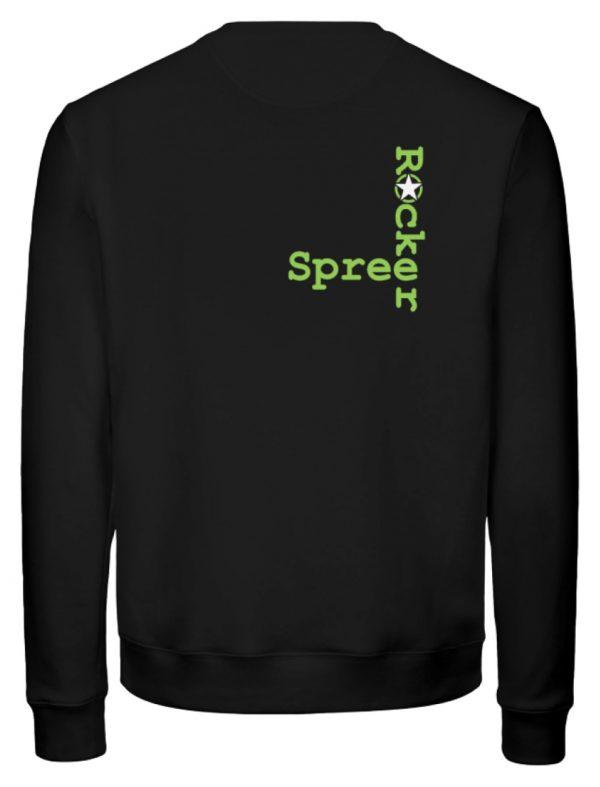 SpreeRocker Neon Skull - Unisex Organic Sweatshirt-16