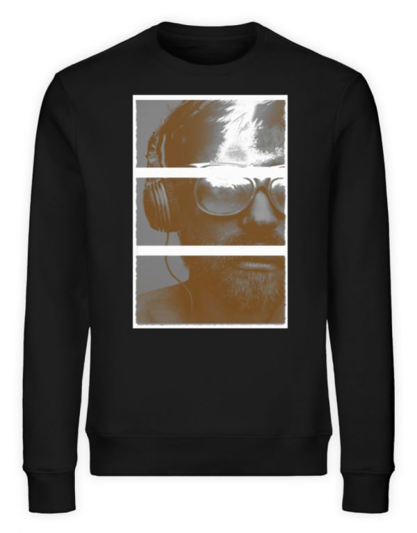 SpreeRocker Music Man - Unisex Organic Sweatshirt-16