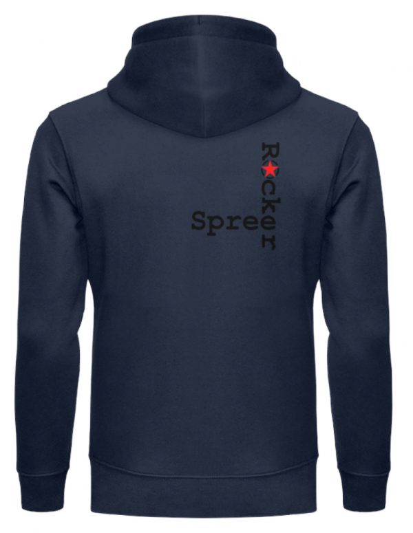 SpreeRocker Music Man - Unisex Organic Hoodie-6887