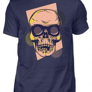 SpreeRocker Orange Skull - Herren Shirt-198