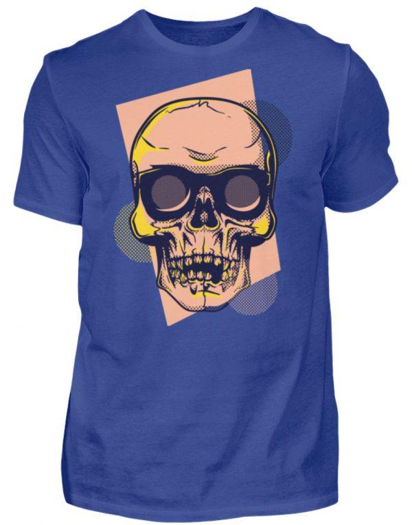 SpreeRocker Orange Skull - Herren Shirt-668