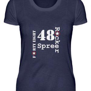 SpreeRocker Forty Eight weiss - Damenshirt-198