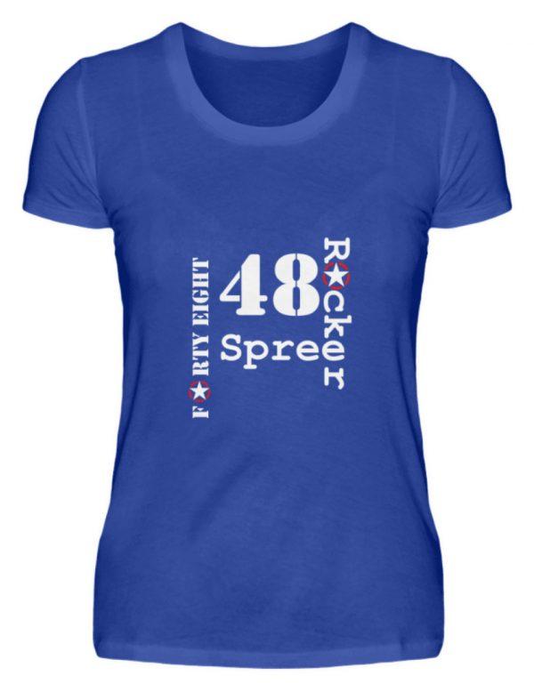 SpreeRocker Forty Eight weiss - Damenshirt-2496
