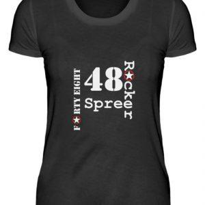 SpreeRocker Forty Eight weiss - Damenshirt-16