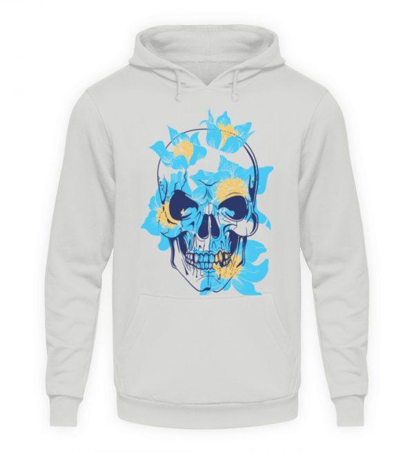 SpreeRocker Blue Skull - Unisex Kapuzenpullover Hoodie-23