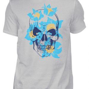 SpreeRocker Blue Skull - Herren Shirt-1157