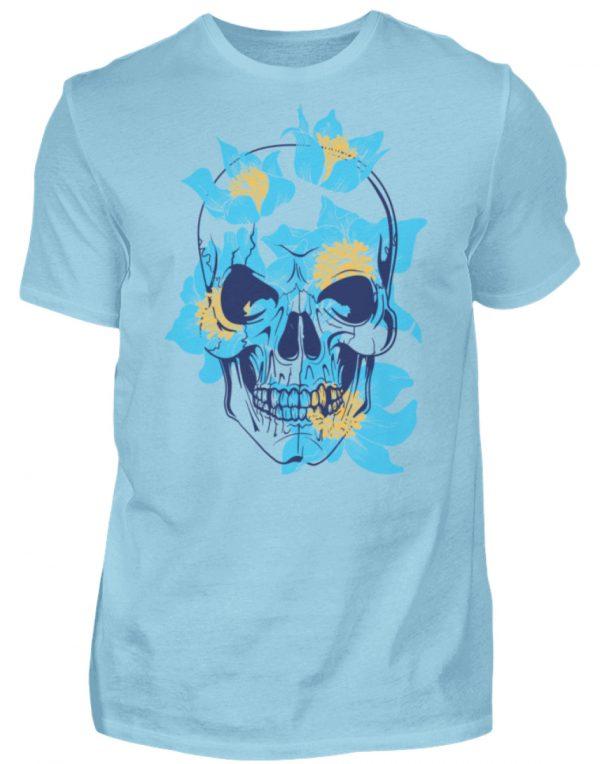 SpreeRocker Blue Skull - Herren Shirt-674