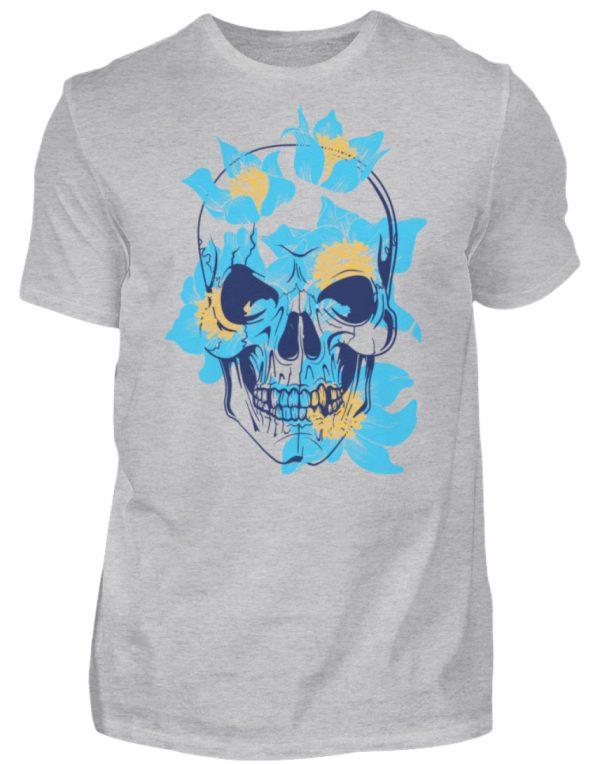 SpreeRocker Blue Skull - Herren Shirt-17