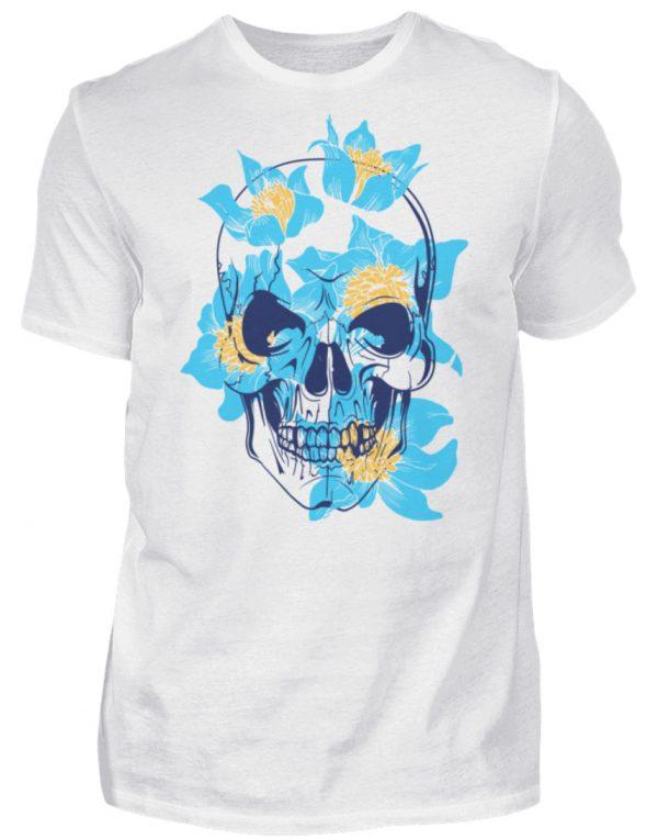 SpreeRocker Blue Skull - Herren Shirt-3