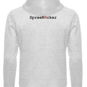 SpreeRocker Sunglass Monkey - Unisex Organic Hoodie-6892