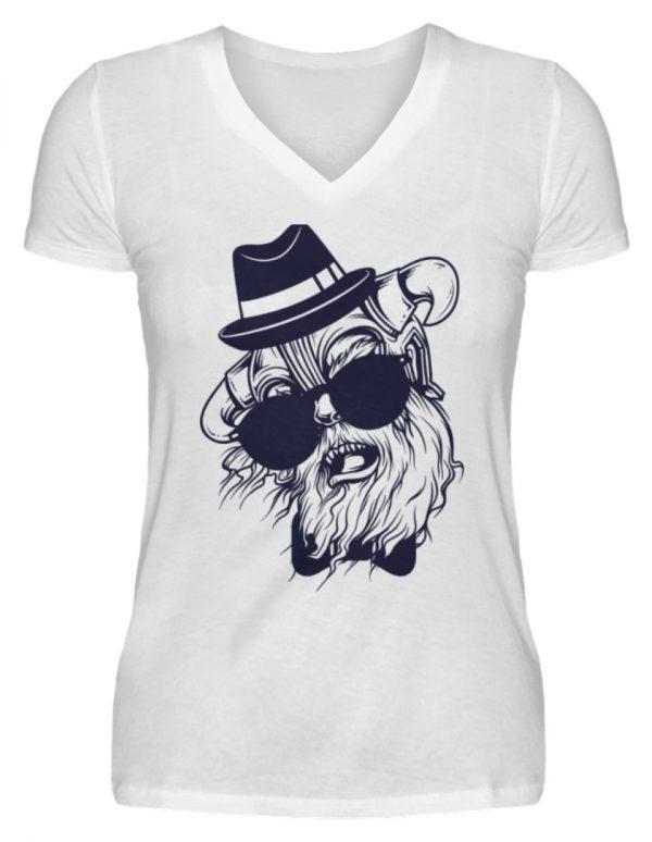 SpreeRocker Sunglass Monkey - V-Neck Damenshirt-3