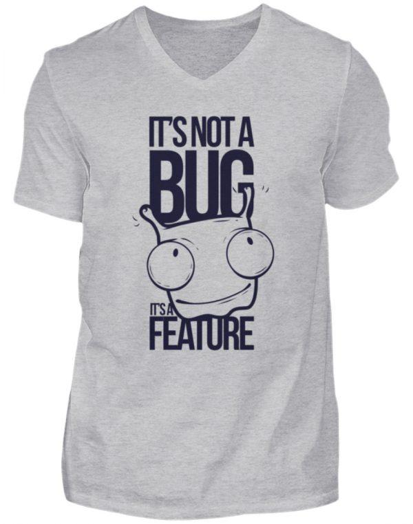 SpreeRocker Not A Bug - Herren V-Neck Shirt-17