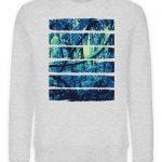 SpreeRocker Blue Jungle - Unisex Organic Sweatshirt-6892