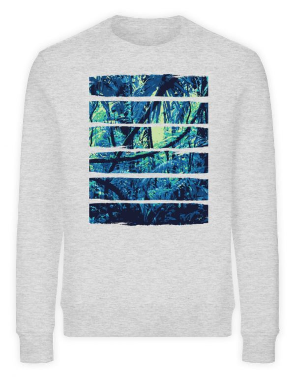 SpreeRocker Blue Jungle - Unisex Organic Sweatshirt-6892
