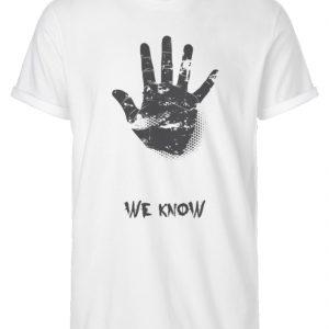 SpreeRocker We Know - Herren RollUp Shirt-3